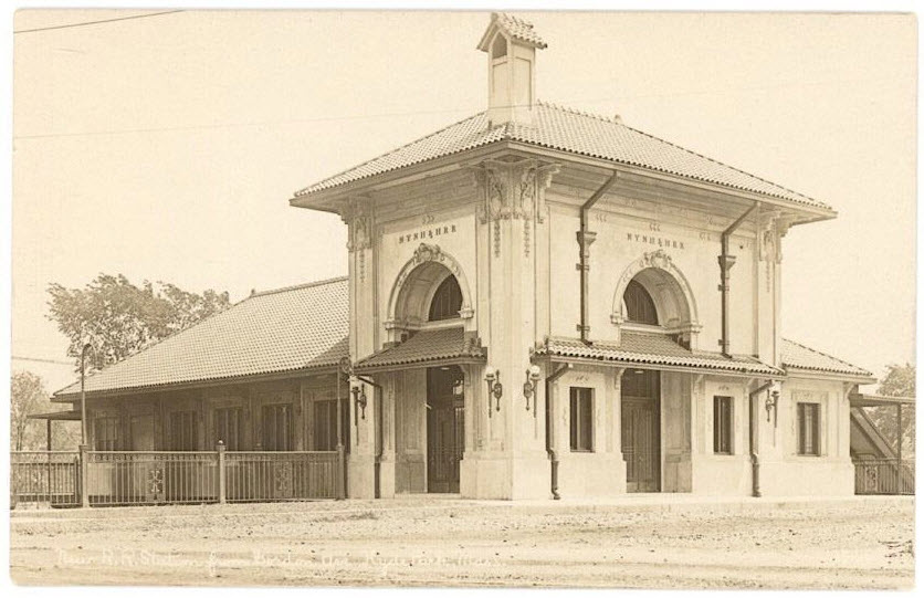 HP station circa 1914