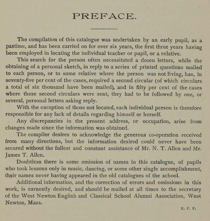 Preface to Allen