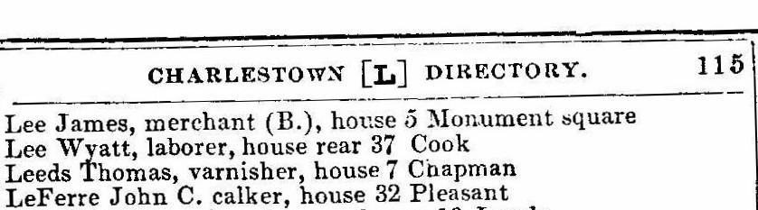 1856 directory